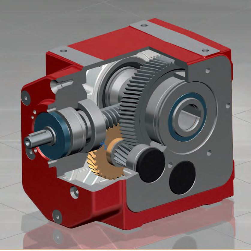 ZAE蜗杆圆柱齿轮减速器
